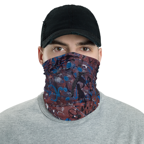 """Incoherent Dimensionality in Development"" Neck Gaiter Face Mask"