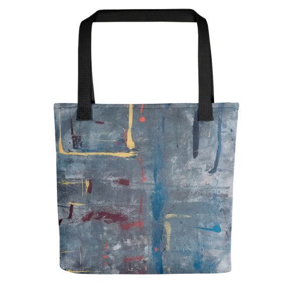 """Angular Moon Dreams"" Tote Bag"