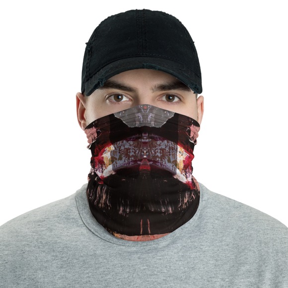 """Fear & Despair Deconstructed"" Neck Gaiter Face Mask"