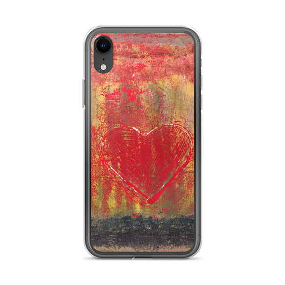 """Resonating Heart"" iPhone Case"