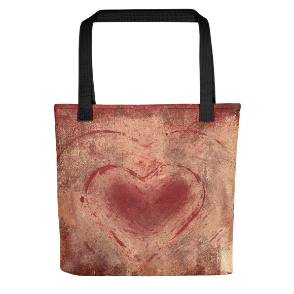 """The Heart Prevails"" Tote Bag"