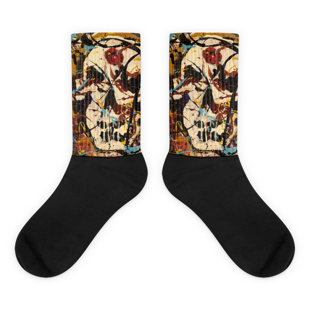 """Silhouette of a Calm Cannibal Just Beneath"" Socks"