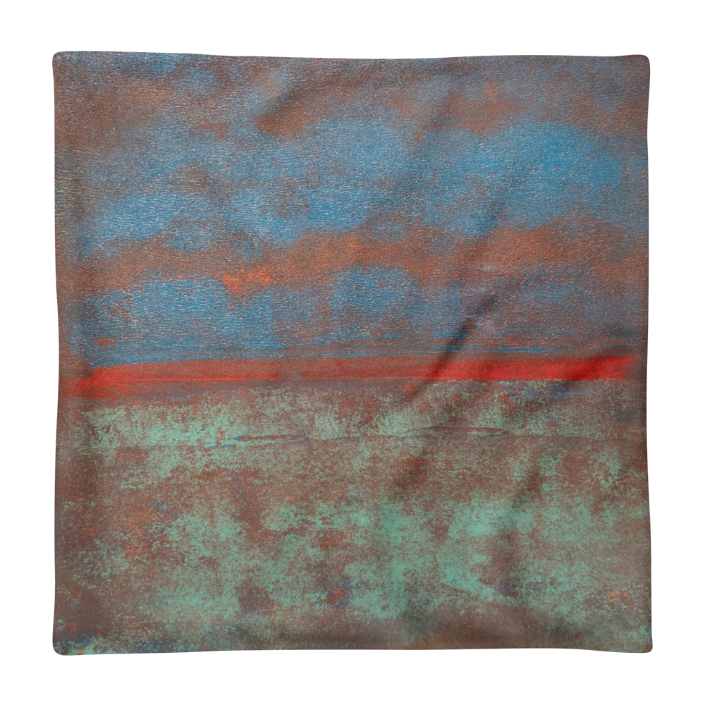 """Steam Up, Mist Over, Clouds Above"" Pillow Case"