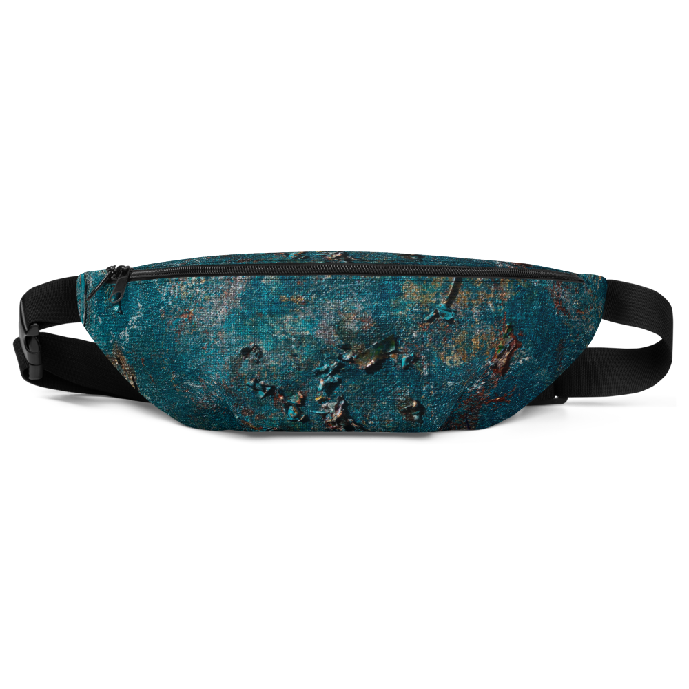 """Fragment of a Rusted Interior Magnified"" Fanny Pack"