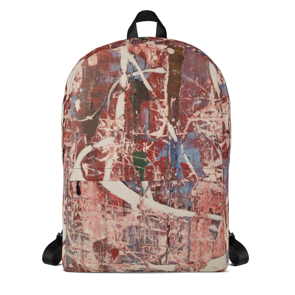 """Memories of Chaotic Movement"" Backpack"