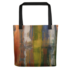 """Reflections on the Canal at Twilight"" Tote Bag"