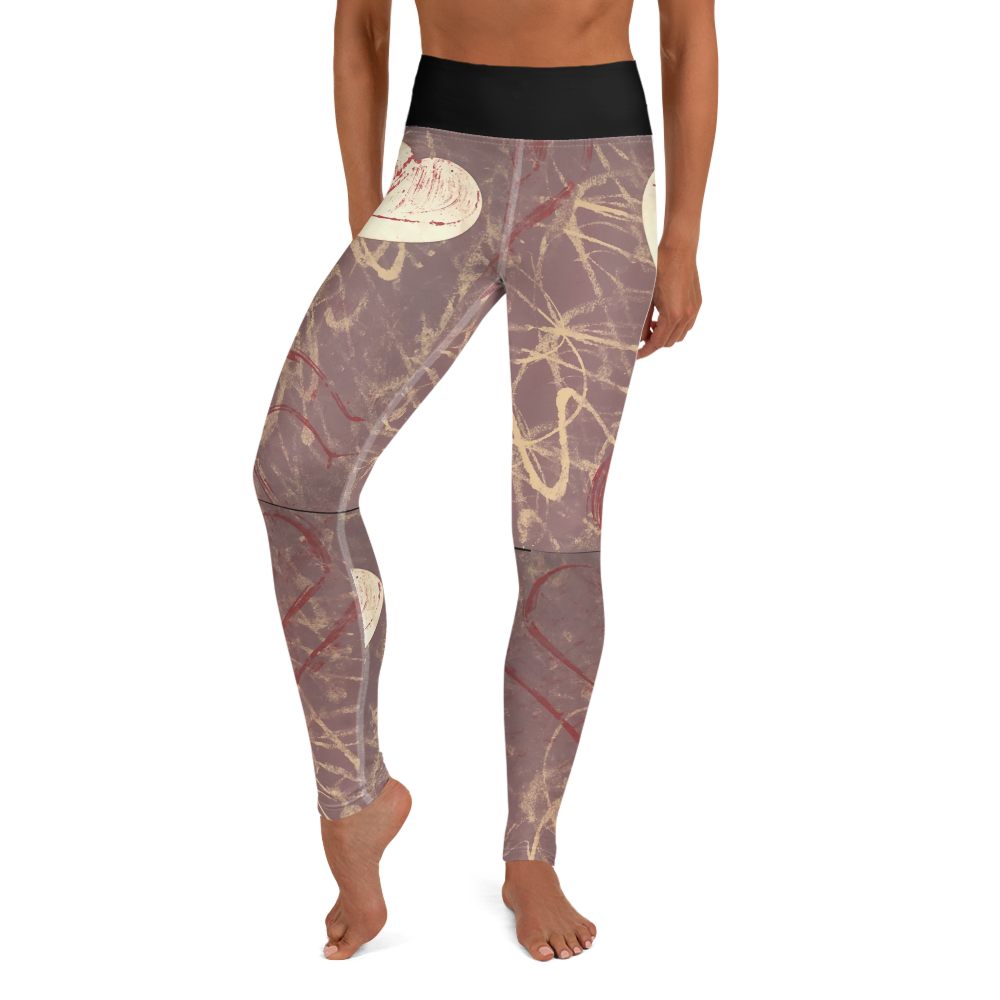 """Love is Unpredictable"" Yoga Leggings"