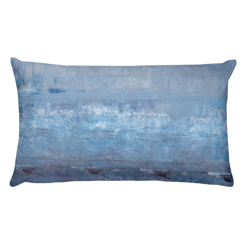 """Fire & Ice"" Pillow"