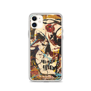 """Silhouette of a Calm Cannibal Just Beneath"" iPhone Case"