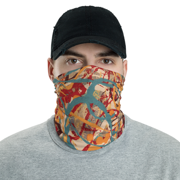 """Lighter Shade of Curvaceous Motion"" Neck Gaiter Face Mask"