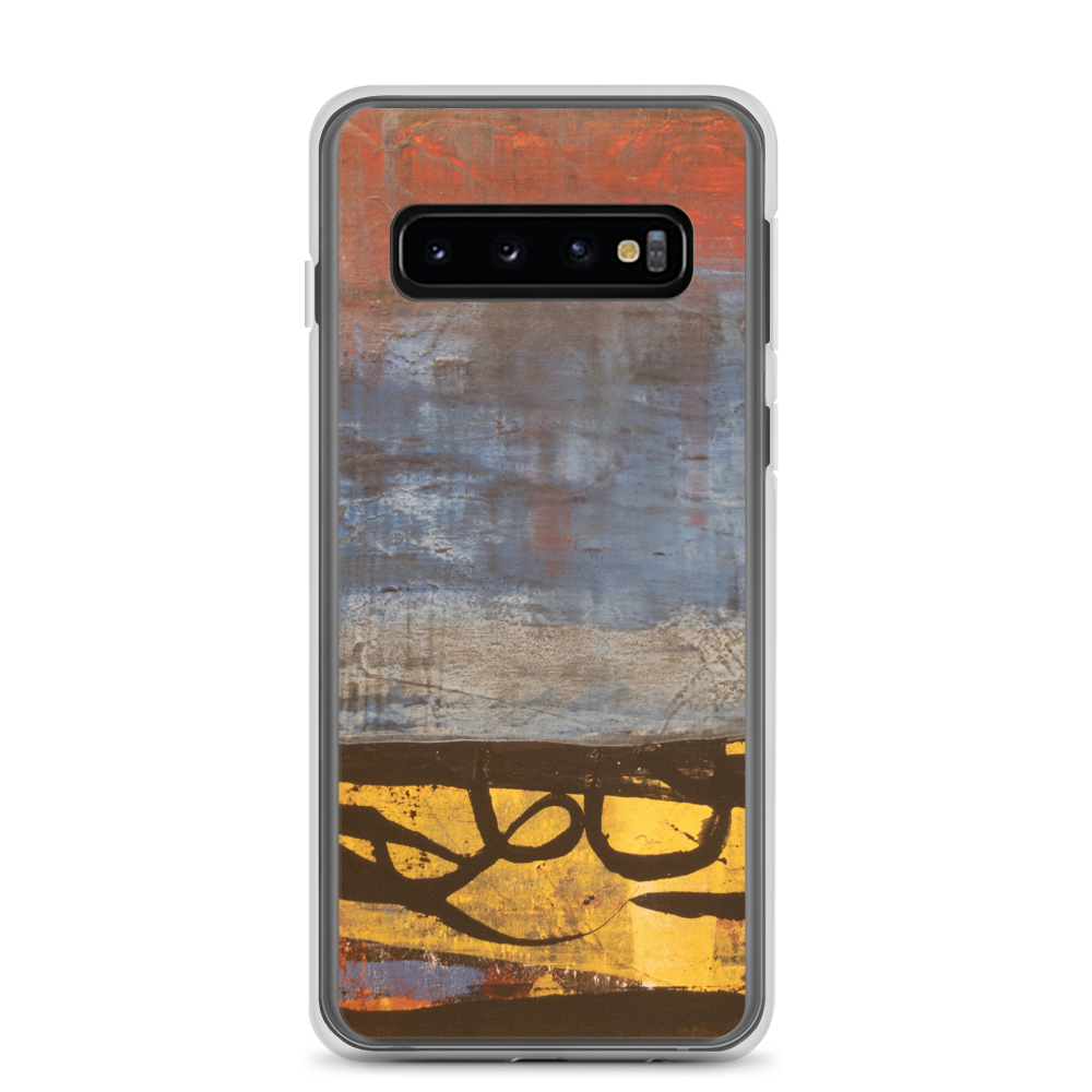 """Electric Silhouette of Bifurcated Interior"" Samsung Case"