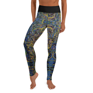 """Suspicious Act of Ecstasy Transmorgified"" Yoga Leggings"