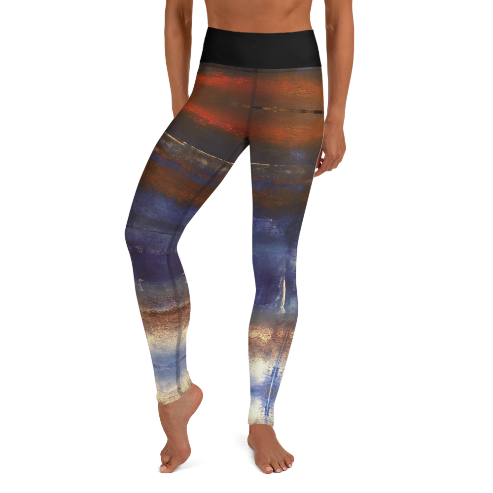 """Bellus Terra"" Yoga Leggings"