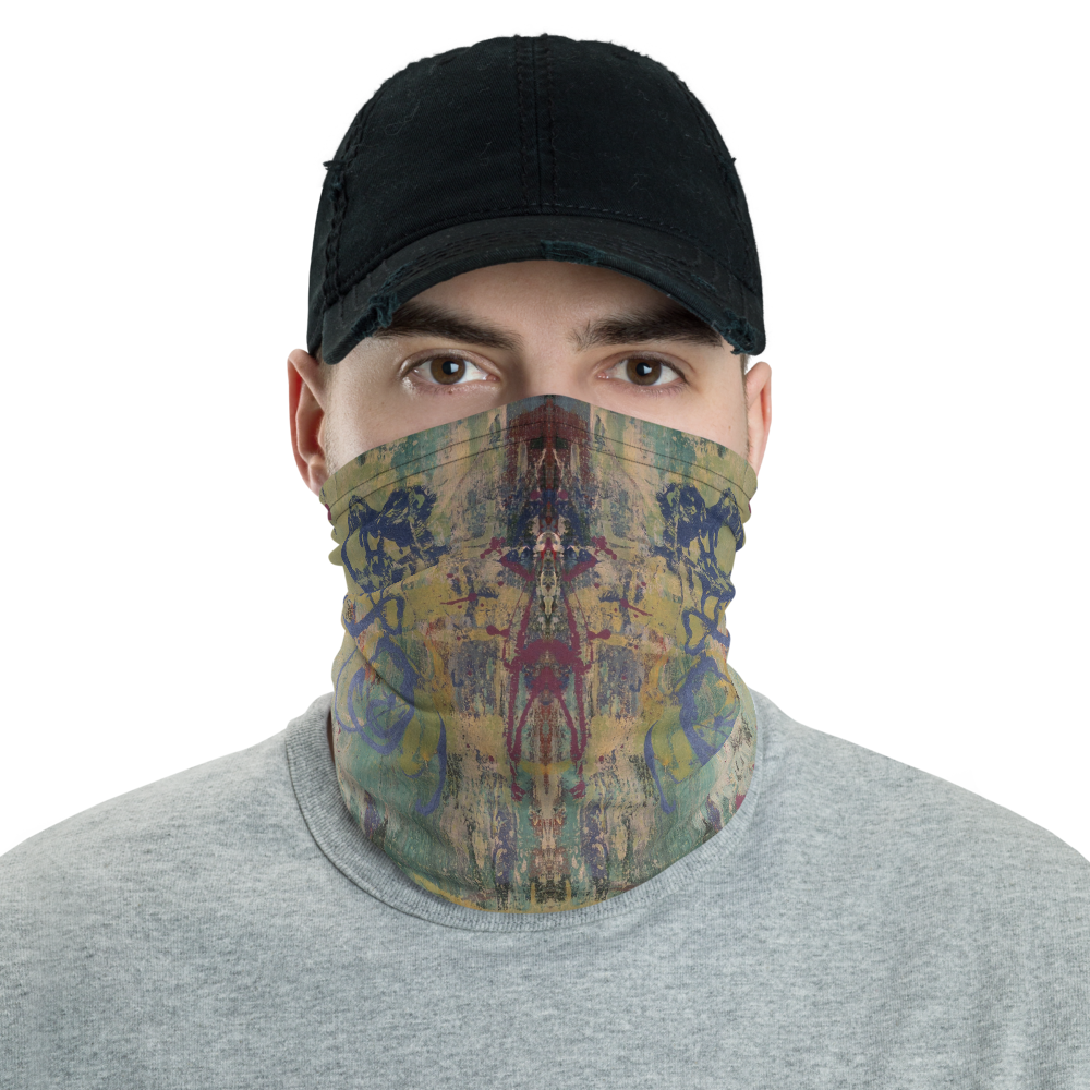 """Speculative Apparition of Urban Elements"" Neck Gaiter Face Mask"