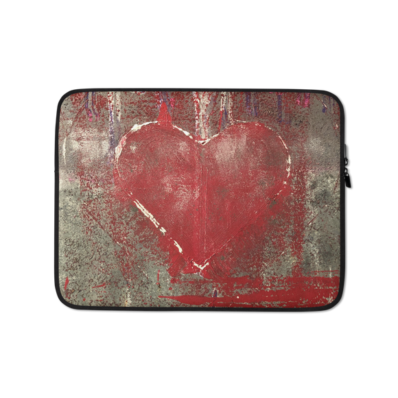 """Love is Messy"" Laptop Sleeve"