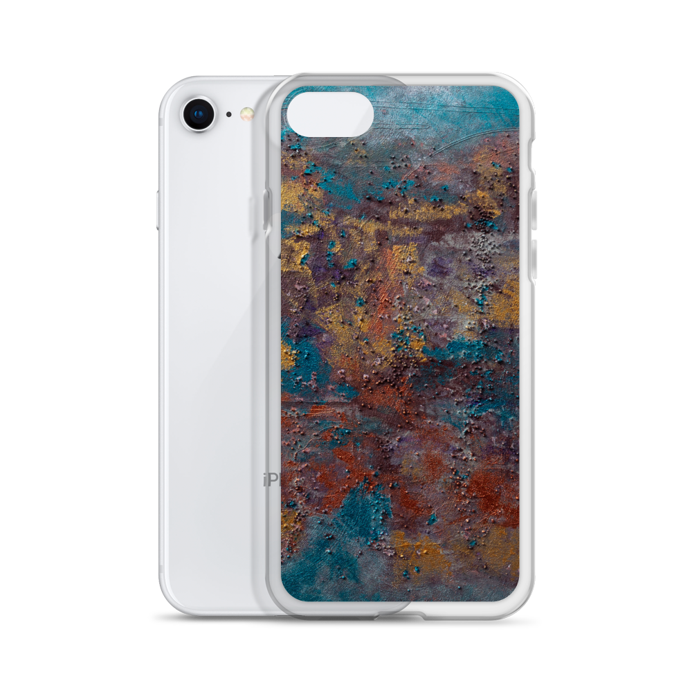 """Great Reef Burning"" Liquid Glitter Phone Case"