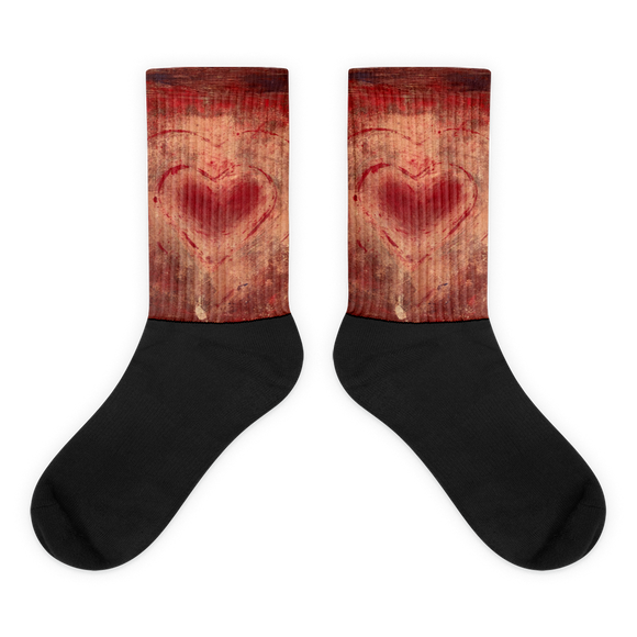 """The Heart Prevails"" Socks"