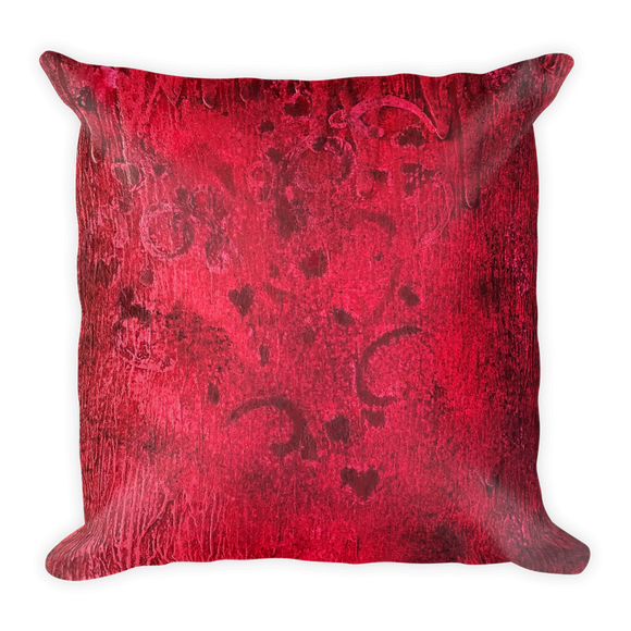"""Ardent Fervor"" Pillow"