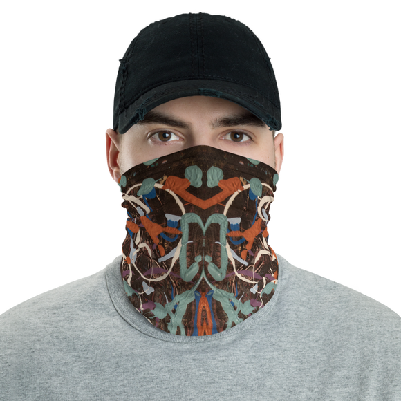 """Variation of Curvaceous Movement"" Neck Gaiter Face Mask"