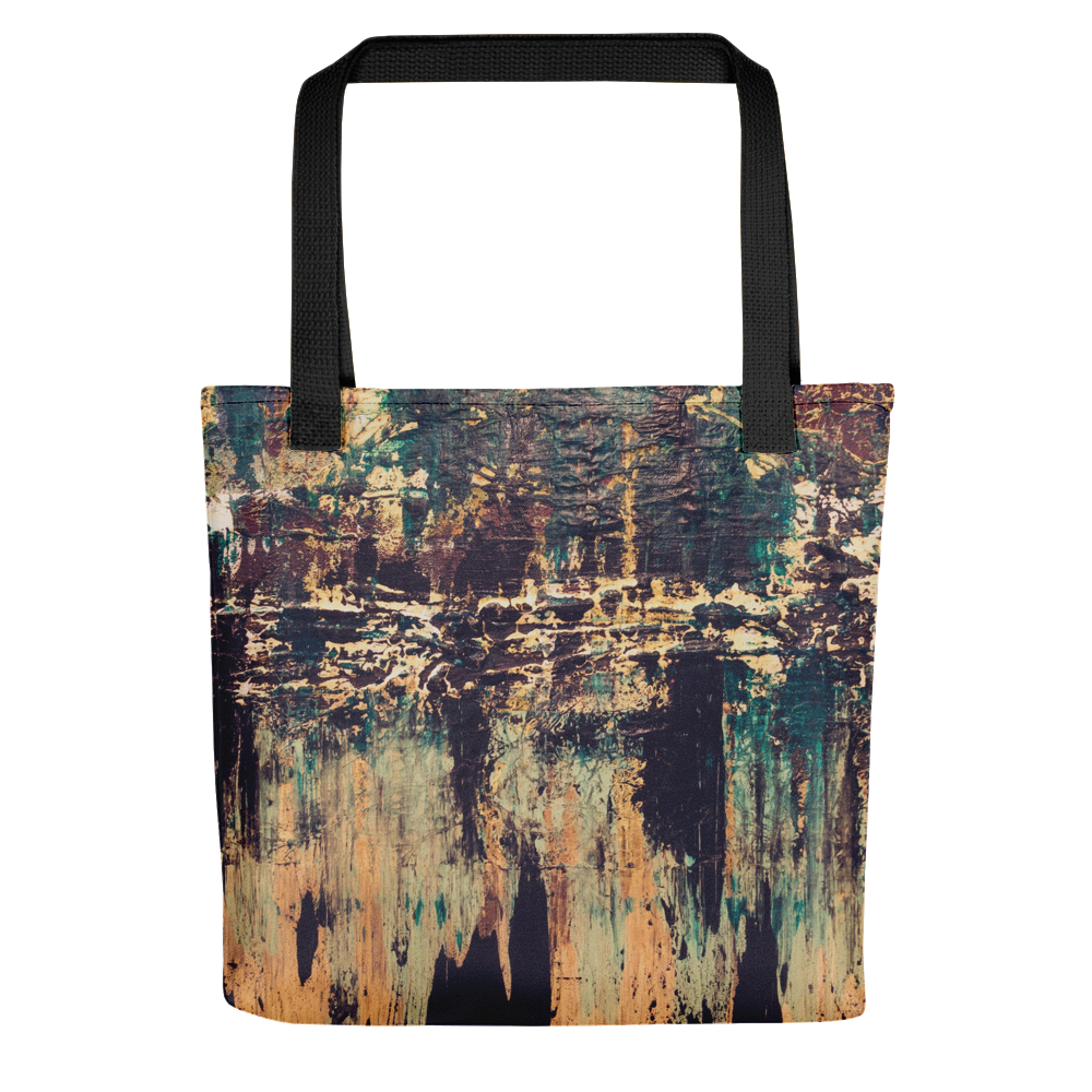 """Silhouette of a Rising Expression"" Tote Bag"