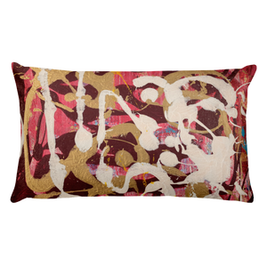 """Simulacrum of Movement"" Pillow"