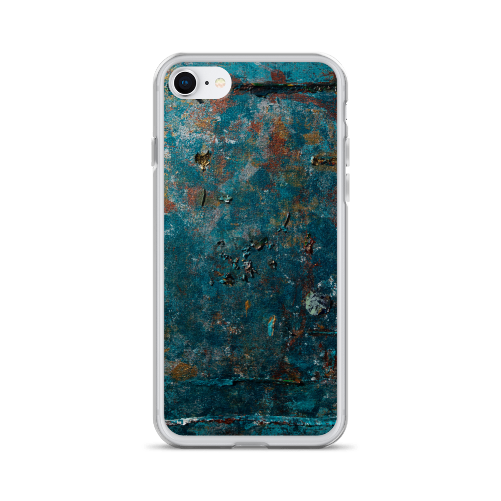 """Fragment of a Rusted Interior Magnified"" Liquid Glitter Phone Case"