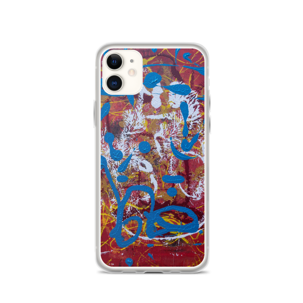 """Adventurous Extract from Torqued Morphism"" iPhone Case"