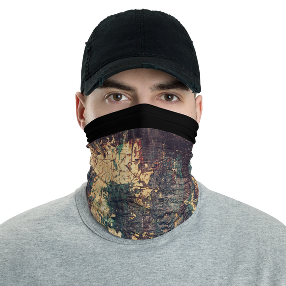 """Silhouette of a Rising Expression"" Neck Gaiter Face Mask"