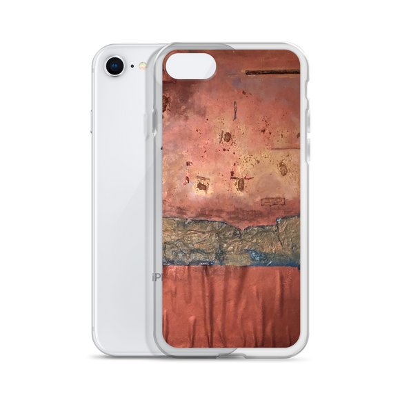 """Greed Decomposed on a Martian Desert"" Liquid Glitter Phone Case"