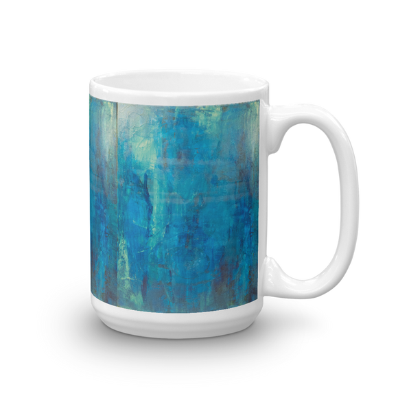 """Borealis Over the Sea"" Mug"