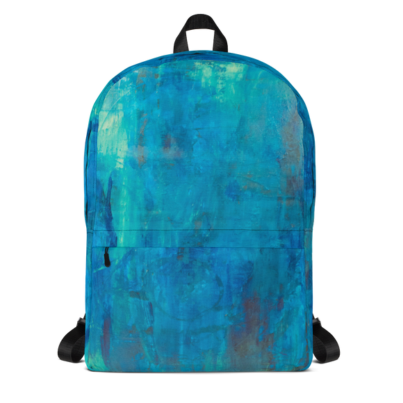 """Borealis Over the Sea"" Backpack"