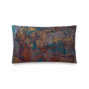 """Great Reef Burning"" Pillow"