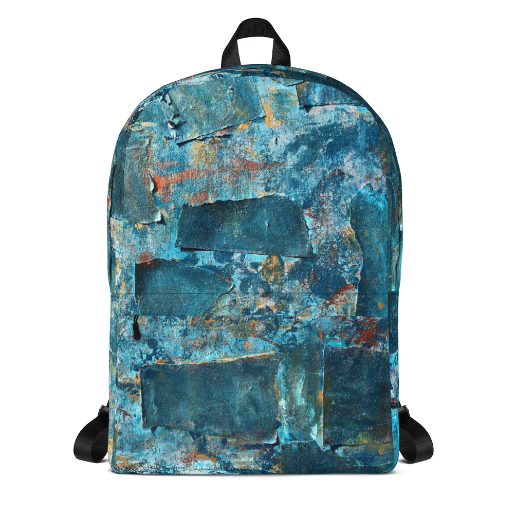 """Emerald Coast of a Fractional Future"" Backpack"