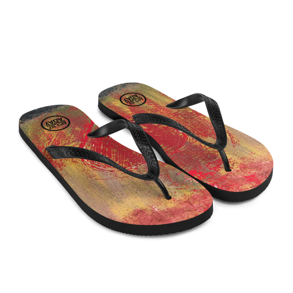 """Resonating Heart"" Flip-Flops"