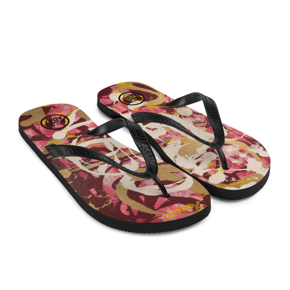 """Simulacrum of Movement"" Flip-Flops"