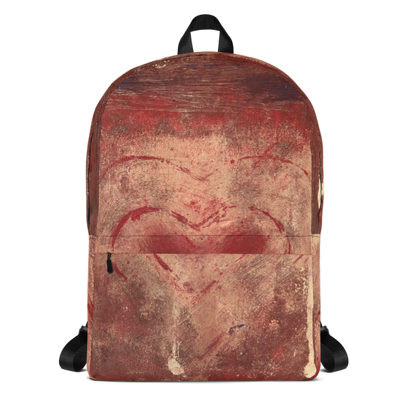 """The Heart Prevails"" Backpack"