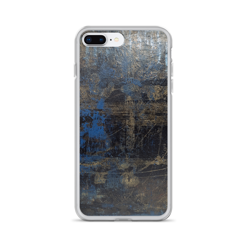 """Shimmering Web of a Drunken Spider"" iPhone Case"