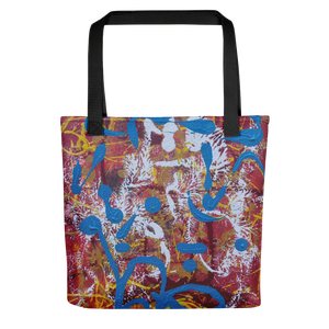 """Adventurous Extract from Torqued Morphism"" Tote Bag"