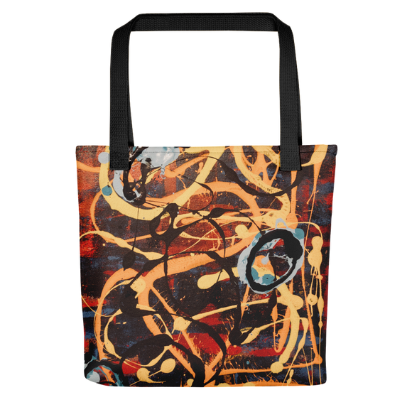 """The Metamorphosis of Curvaceous Motion"" Tote Bag"