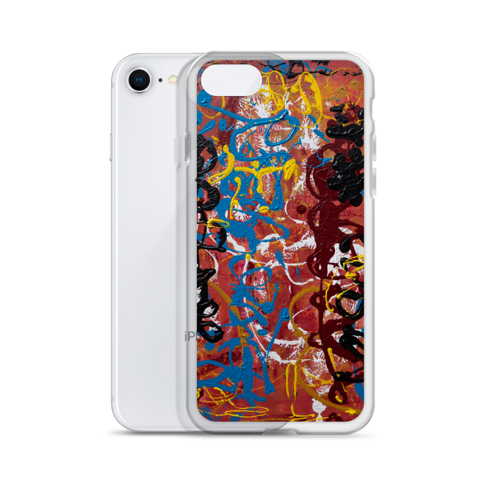 """Torqued Morphism"" Liquid Glitter Phone Case"