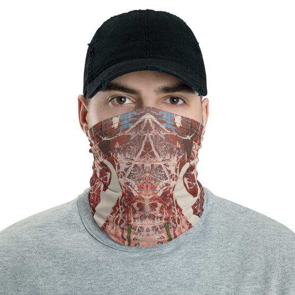 """Memories of Chaotic Movement"" Neck Gaiter Face Mask"