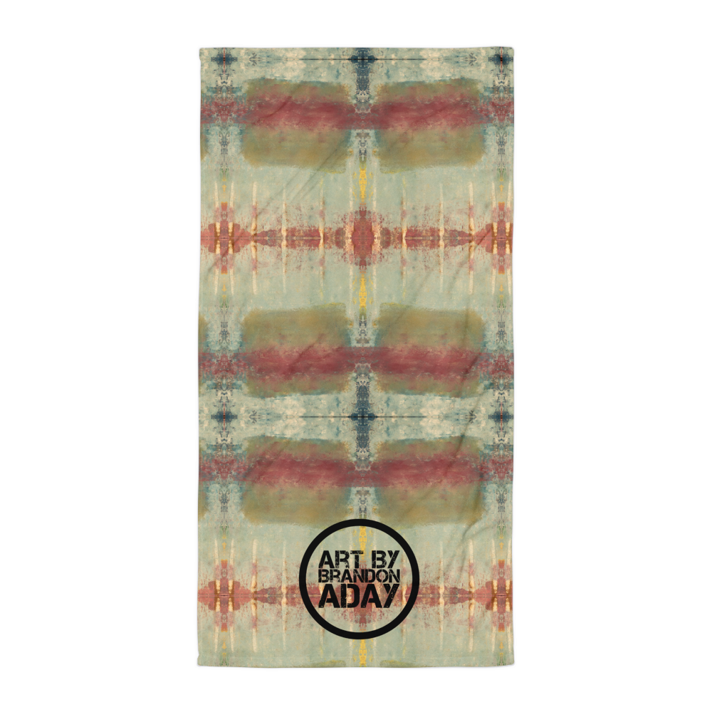 """Five Spikes in the Dirty Ice"" Towel"