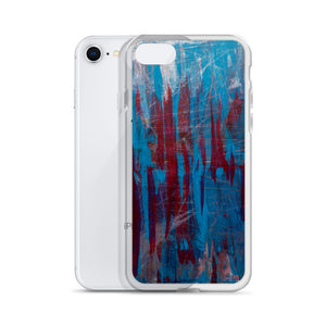 """Manifesto of Formless Exclusion"" Liquid Glitter iPhone Case"