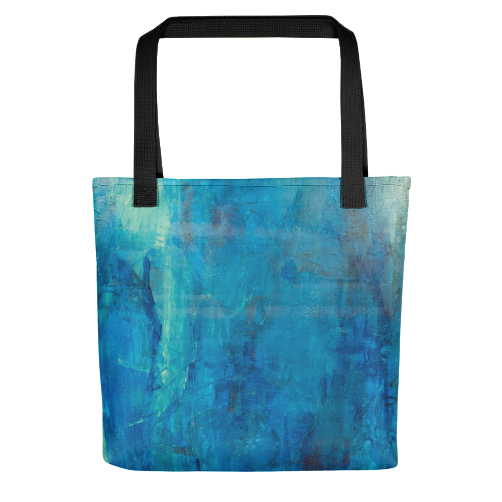 """Borealis Over the Sea"" Tote Bag"