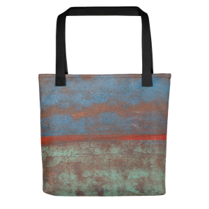 """Steam Up, Mist Over, Clouds Above"" Tote Bag"
