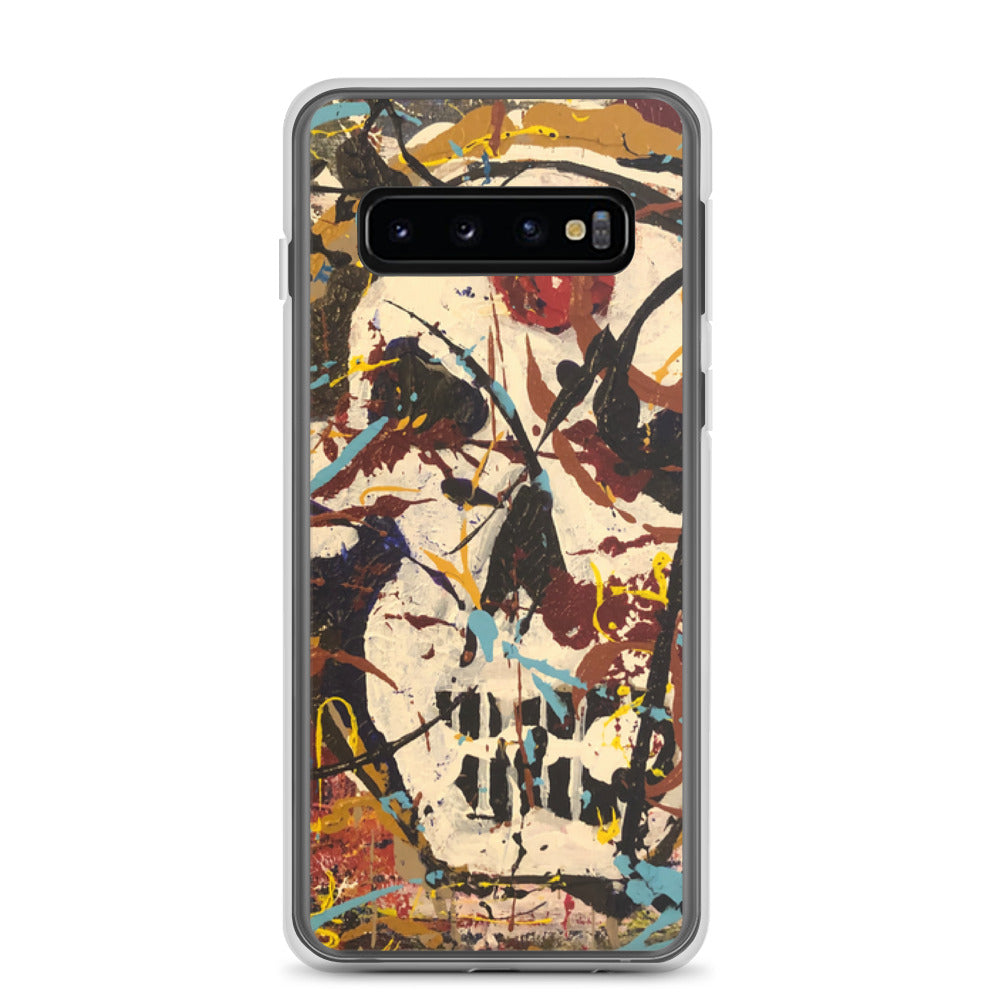 """Silhouette of a Calm Cannibal Just Beneath"" Samsung Case"