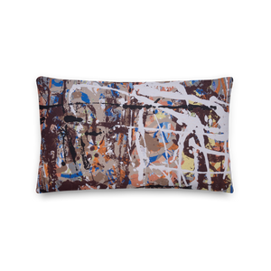 """Extract from Amorphous Conurbations"" Pillow"