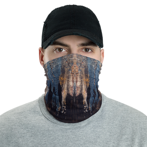 """Waveform of a Dreary Echo"" Neck Gaiter Face Mask"