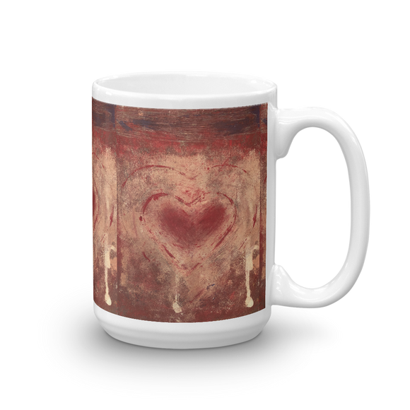 """The Heart Prevails"" Mug"