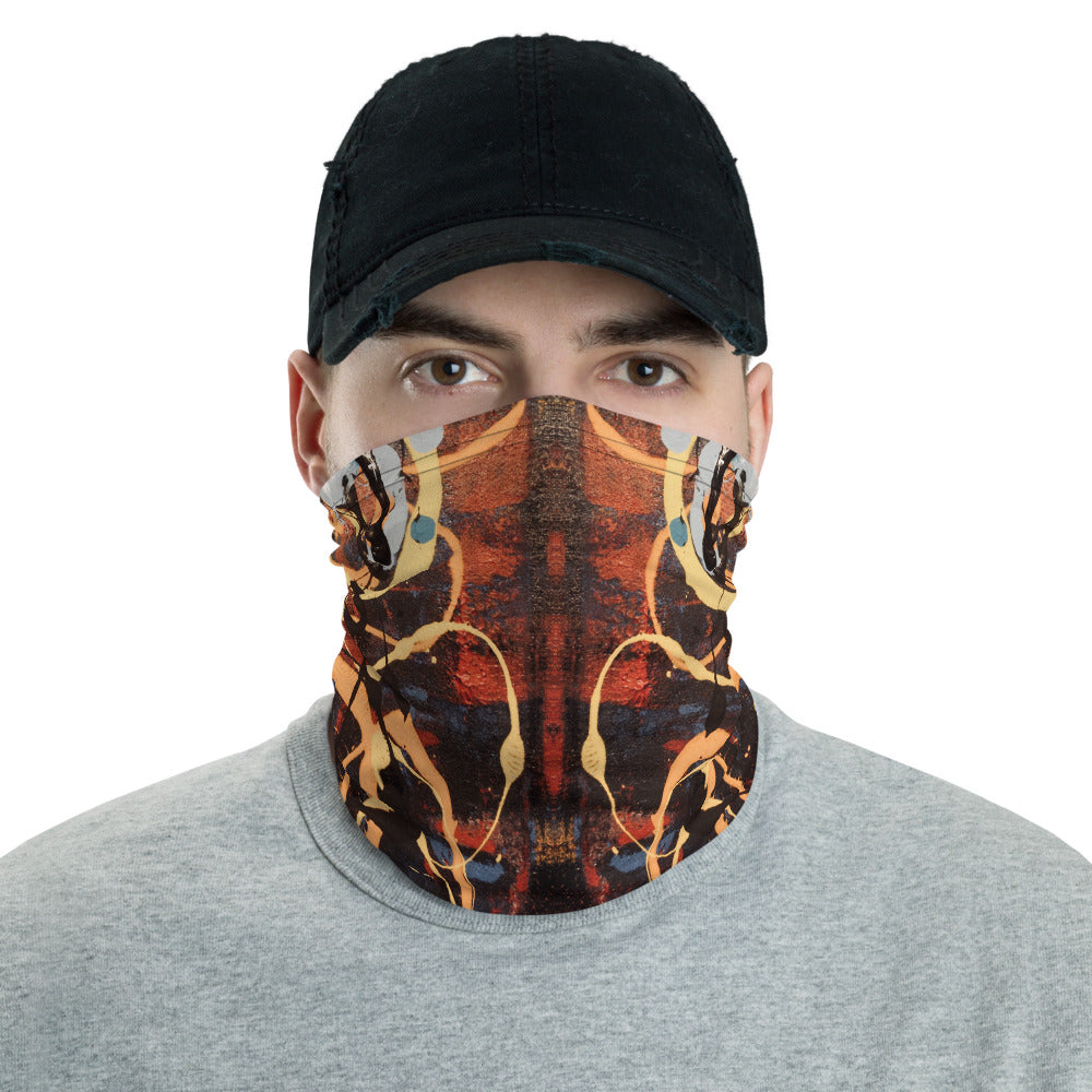 """The Metamorphosis of Curvaceous Motion"" Neck Gaiter Face Mask"